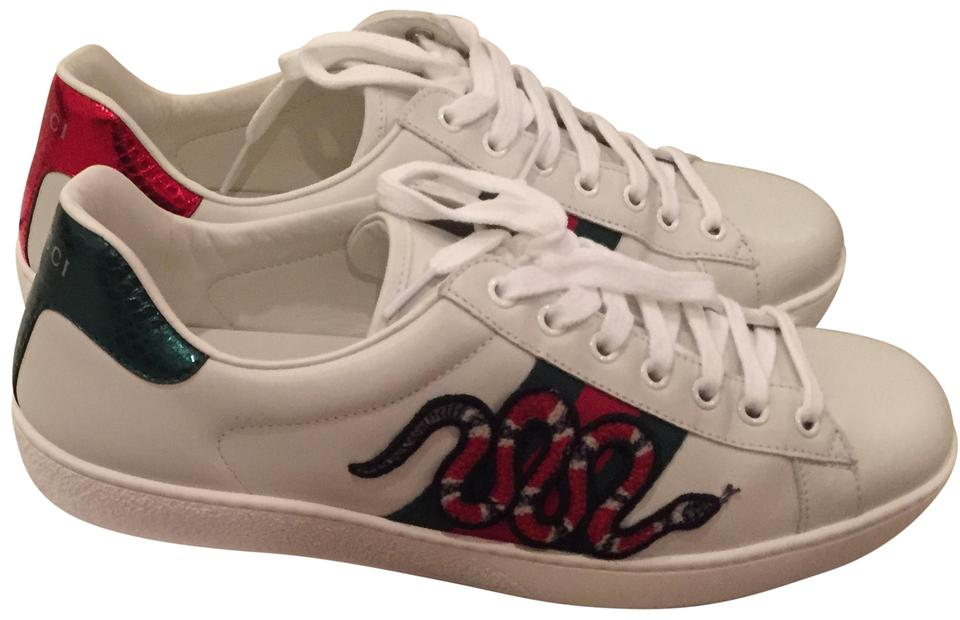 26bb97bb321 Gucci White Snake Ace Men s Sneakers Sneakers Size US 8.5 Regular (M ...