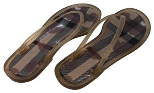 Burberry Clear with pattern Sandals