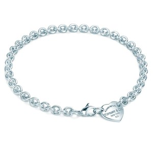Tiffany & Co. Heart tag choker necklace