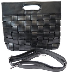Other Cross Body Leather Woven Shoulder Bag