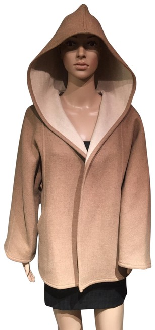 Item - Camel Wool Poncho/Cape Size 4 (S)