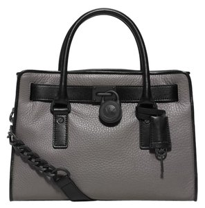13ebcfd349ff Michael Kors East West Hamilton French Binding Satchel (New with ...