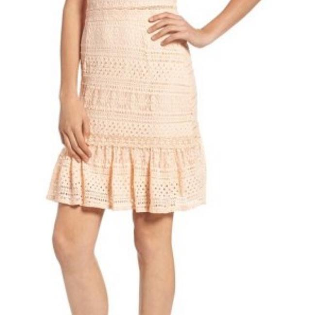Foxiedox short dress Pale peach on Tradesy