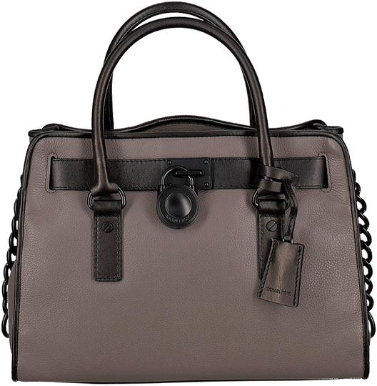 Preload https://img-static.tradesy.com/item/24670829/michael-kors-hamilton-french-binding-east-west-satchel-new-with-tags-cinder-taupe-brown-black-leathe-0-1-540-540.jpg
