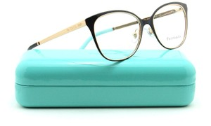 Tiffany & Co. NEW Tiffany & Co Gold Metal Oversized Cat Eye Eyeglasses Frames