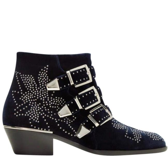 Item - Navy Susanna Boots/Booties Size US 9 Regular (M, B)