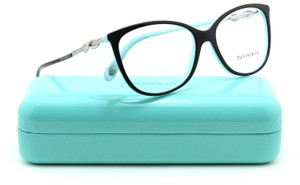 Tiffany & Co. NEW Tiffany & Co TF2143B Oversized Cat Eye Crystal Infinity Eyeglasses