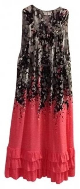 Preload https://item2.tradesy.com/images/london-times-pink-black-multi-and-knee-length-cocktail-dress-size-10-m-24671-0-0.jpg?width=400&height=650