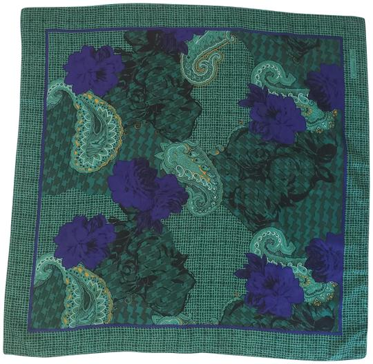 Preload https://img-static.tradesy.com/item/24671047/dior-green-square-purple-paisley-houndstooth-floral-scarfwrap-0-1-540-540.jpg