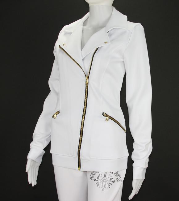 Versace Versace Women's Gym Pant Suit with Crystals Embellishment