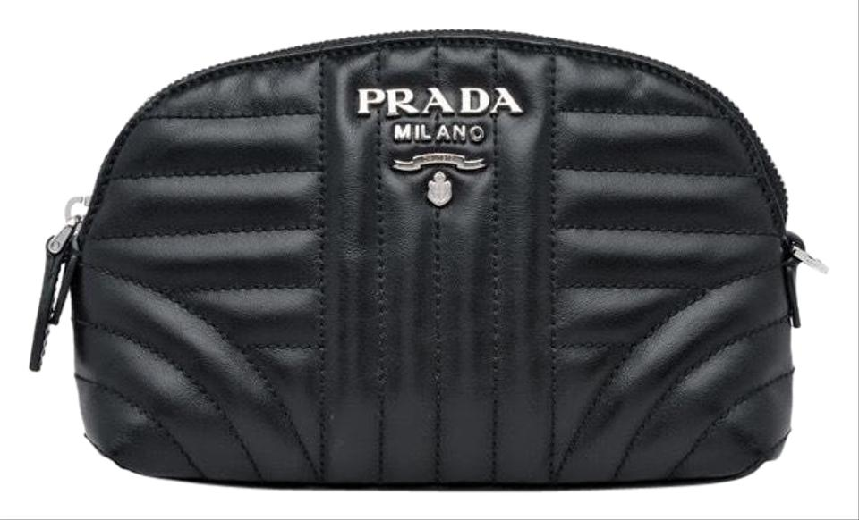 e2a22671d81c Prada Leather Makeup Clutch - Tradesy