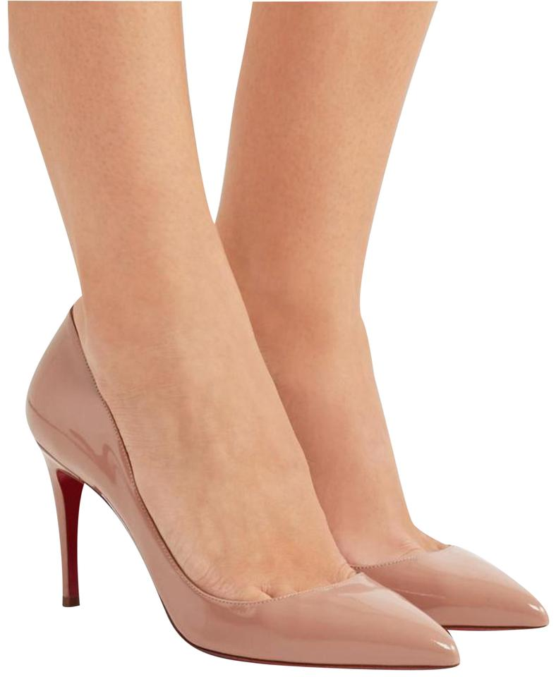 9ed88a8e0c99 Christian Louboutin Pigalle Follies Pigalle So Kate Follies 85mm Nude Pumps  Image 0 ...