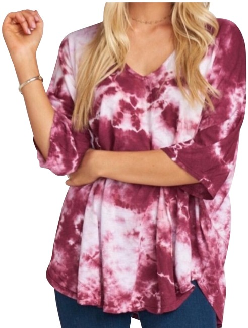 Preload https://img-static.tradesy.com/item/24671306/show-me-your-mumu-shook-tie-dye-tunic-tee-shirt-size-8-m-0-1-650-650.jpg