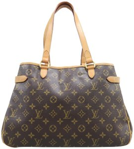 Louis Vuitton Batignolles Monogram Horizontal Canvas Shoulder Bag