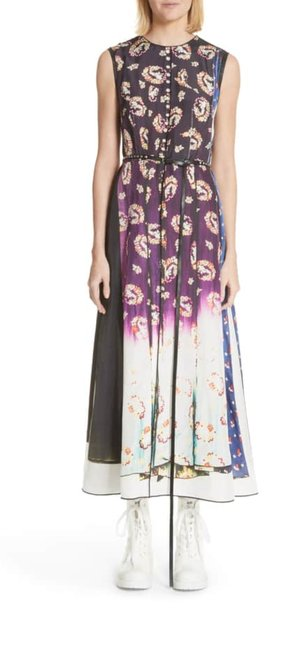 Marc Jacobs Multicolor Floral Degrade Photo Print Long Casual Maxi Dress Size 2 (XS) Marc Jacobs Multicolor Floral Degrade Photo Print Long Casual Maxi Dress Size 2 (XS) Image 1