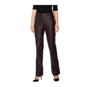 7e6d90fbf8c8d G.I.L.I. Straight Pants Black Cherry