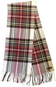 Burberry Cashmere/Wool Oversized Plaid Scarf