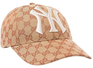 Gucci Embroidered Coated-canvas Baseball Cap