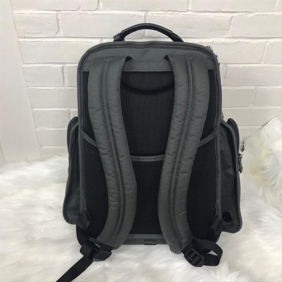 9ec1ed98c Tumi Mens Alpha T-pass Laptop Brief Grey Nylon Backpack - Tradesy