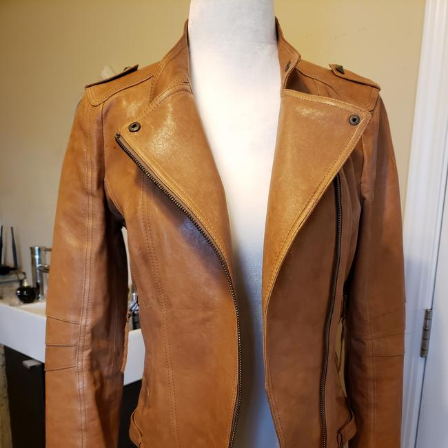 Light-weight Faux Leather Jacket Size 2 (XS) Light-weight Faux Leather Jacket Size 2 (XS) Image 1