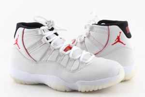 "Air Jordan Multi Color ""Platinum Tint"" Retro 11's Shoes"