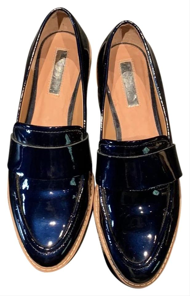 027ea35f31d Halogen Navy Patent Leather Pointed Toe Loafer Flats Size US 6 ...