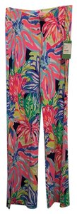 Lilly Pulitzer Wide Leg Pants pink/multi