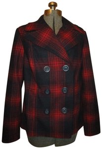 Old Navy Wool Double Breasted Short 002 Pea Coat