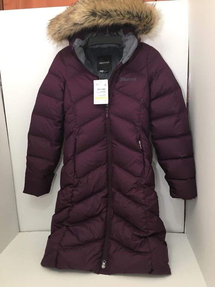 fb357e133 Marmot Dark Purple XS Montreal Women's Down Jacket Hood Zipper Coat Size 0  (XS) 3% off retail