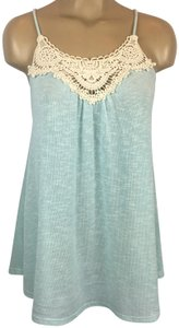 Altar'd State Top Blue/Ivory