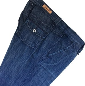 Seven7 Flare Leg Jeans-Distressed