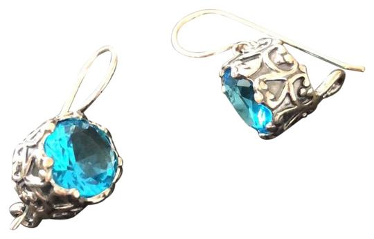 Preload https://img-static.tradesy.com/item/24673794/turquoise-blue-sterling-silver-drops-earrings-0-3-540-540.jpg