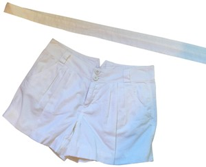 A|X Armani Exchange Dress Shorts white
