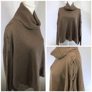 Urban Outfitters Cowl Neck Oversized Boho Winter Wool Sweater