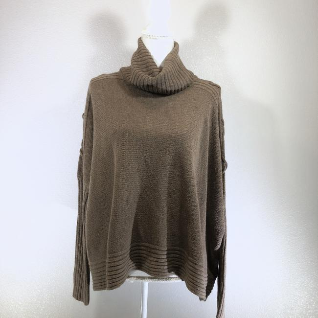 Urban Outfitters Cowl Neck Oversized Boho Winter Wool Sweater Image 1