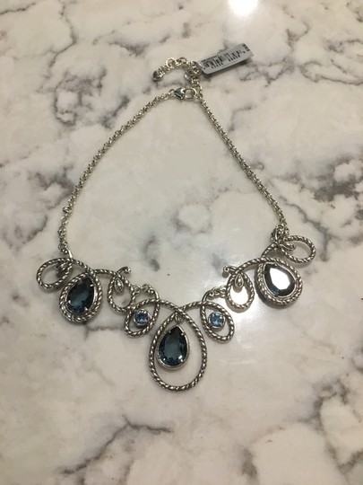 Brighton BRIGHTON NECKLACE/COLLAR ABUNDANT - SILVER PLATED BLUE CRYSTALS Image 4