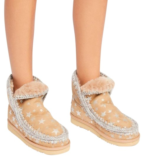Preload https://img-static.tradesy.com/item/24674059/taupe-and-metallic-meadow-stars-crochet-bootsbooties-size-eu-40-approx-us-10-regular-m-b-0-1-540-540.jpg