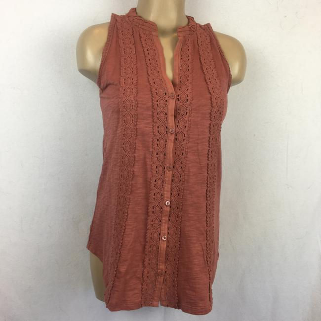 Anthropologie Top Brown Image 4