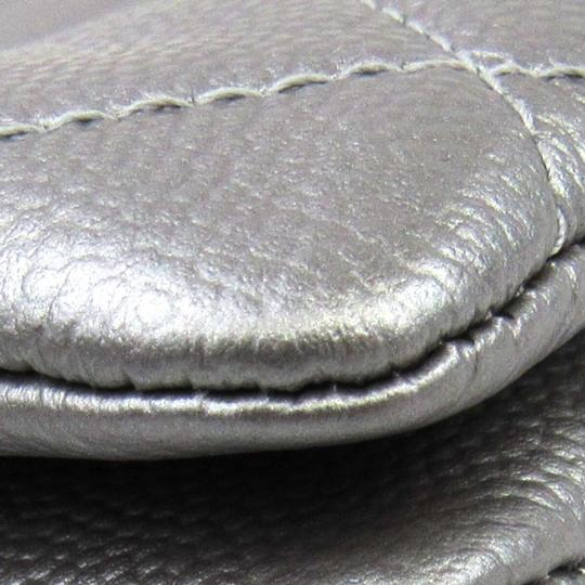 Chanel Silver Clutch Image 5