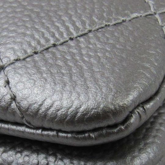 Chanel Silver Clutch Image 6