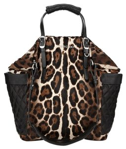 Jimmy Choo Tote in Black Leopard