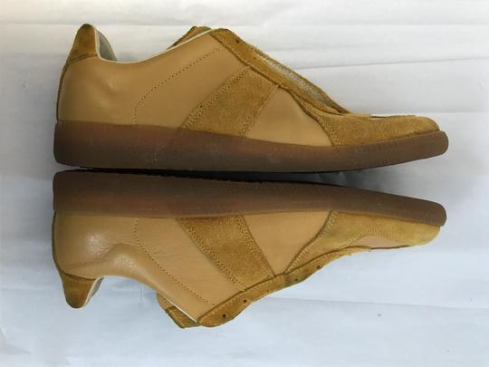 Maison Margiela Suede Rubber Sole Mustard Athletic Image 4