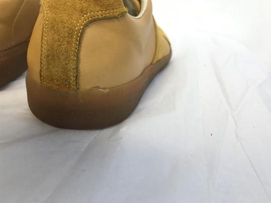 Maison Margiela Suede Rubber Sole Mustard Athletic Image 5