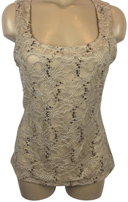Preload https://img-static.tradesy.com/item/24674209/boston-proper-tan-sequin-lace-tank-topcami-size-6-s-0-1-650-650.jpg