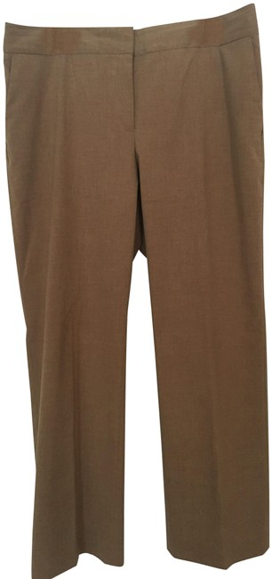Liz Claiborne Career Trouser Pants Light Brown Image 0