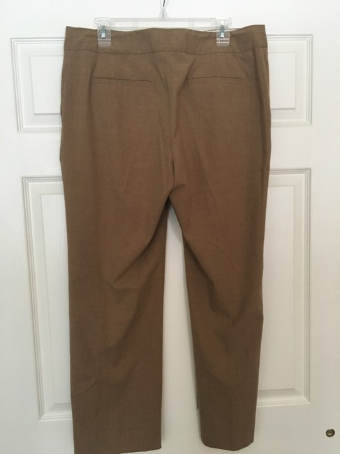Liz Claiborne Career Trouser Pants Light Brown Image 1
