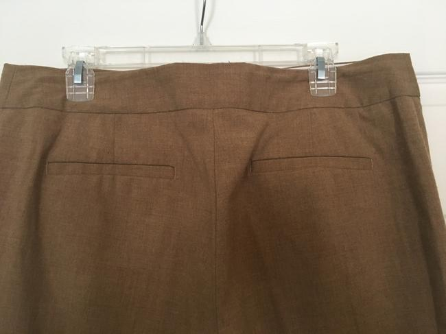 Liz Claiborne Career Trouser Pants Light Brown Image 3