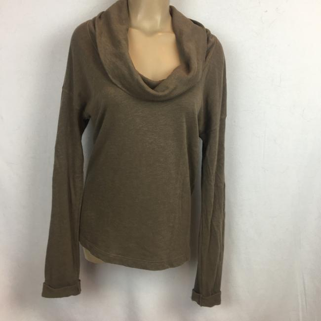 James Perse Top Olive/Brown Image 1