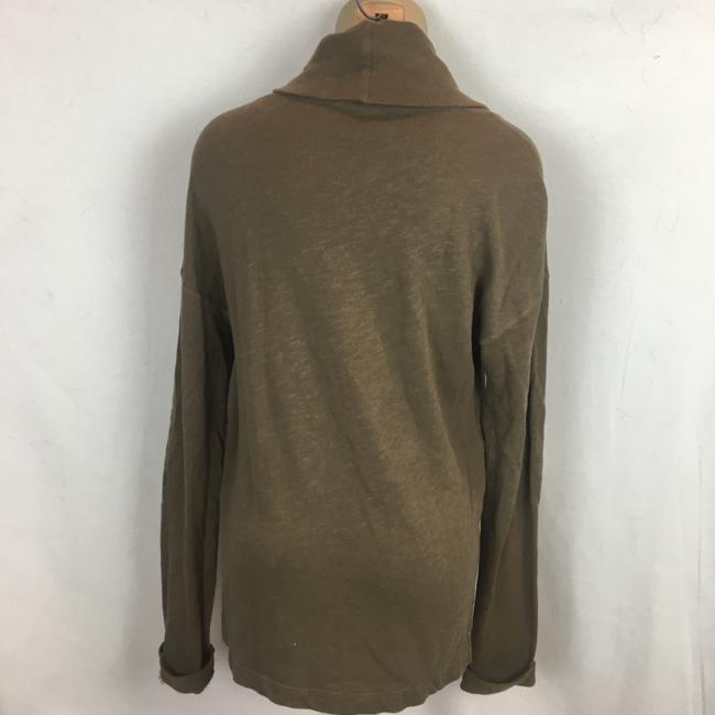 James Perse Top Olive/Brown Image 3