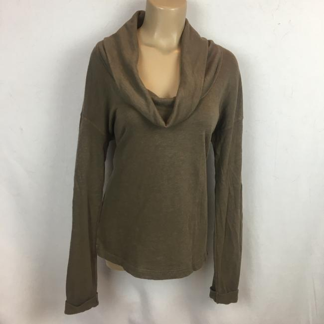 James Perse Top Olive/Brown Image 4